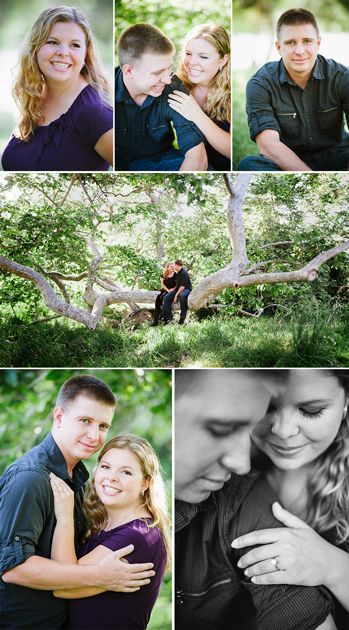 Schabarum Park engagement photos