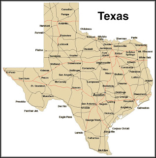 Texas Cities Map Pictures 3