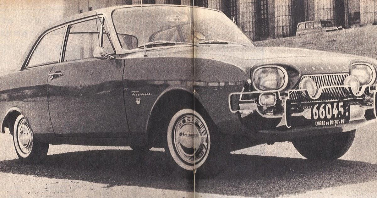 Archivo de autos: Taunus 17 M, un auto alemán en Argentina