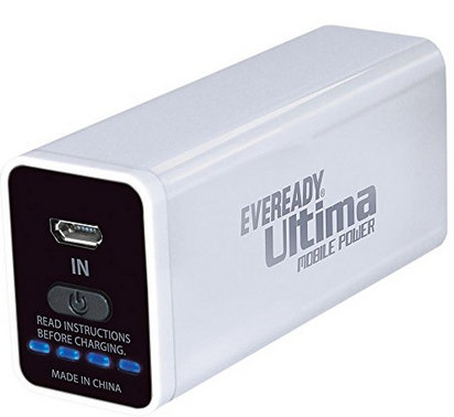 Eveready UM26 Power Bank 2600 mAH for Rs.535 | Cheapest online -BuyToEarn