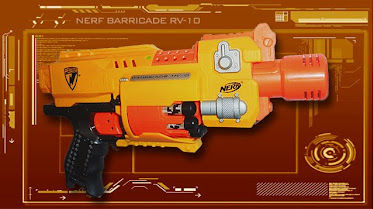 Imagen de la nueva pistola de nerf
