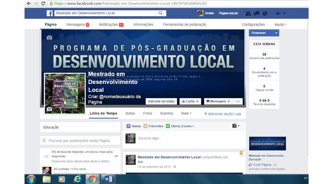 Curta nossa Fanpage no Facebook