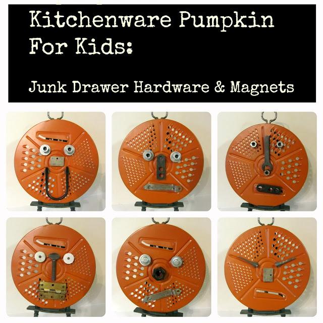 Kid's Junk Pumpkin Project http://organizedclutterqueen.blogspot.com