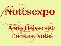 Anna university Environmental Science and Engineering lecture notes