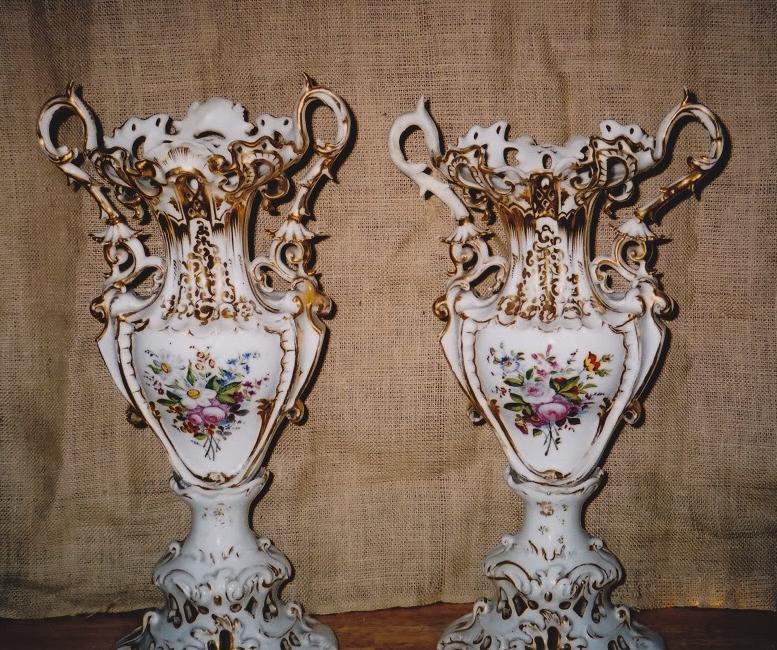 Masterpiece Fine Art Restoration Dresden Vase Restoration