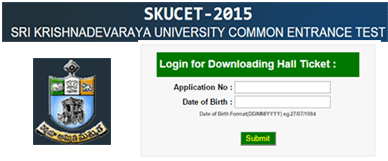 SKUCET Hall Ticket 2015 Available to Download at skudoa.in, SKUCET 2015 Hall Ticket with Name wise, Sri Krishnadevaraya University Common Entrance Test Hall Tickets 2015, SKUCET 2015 Hall Ticket Download Today