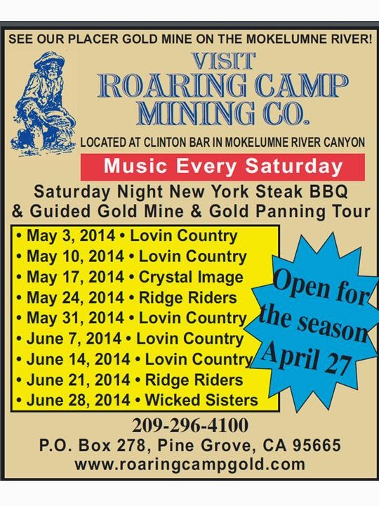 Roaring Camp: May-June 2014