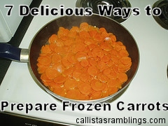 How to Cook Frozen Carrots