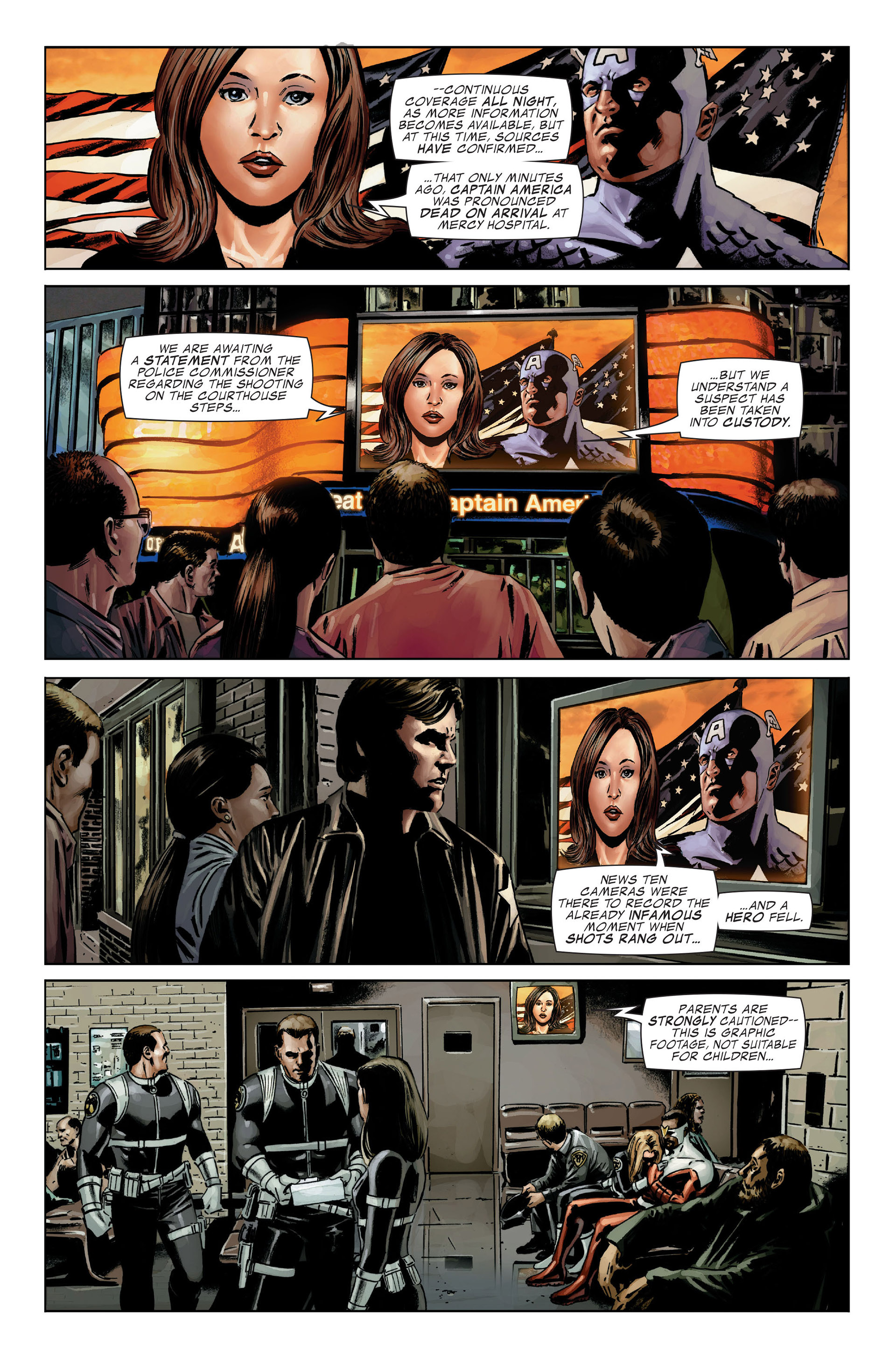 Captain America (2005) Issue #25 #25 - English 30