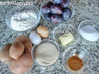 Galuste cu prune gomboti ingrediente reteta