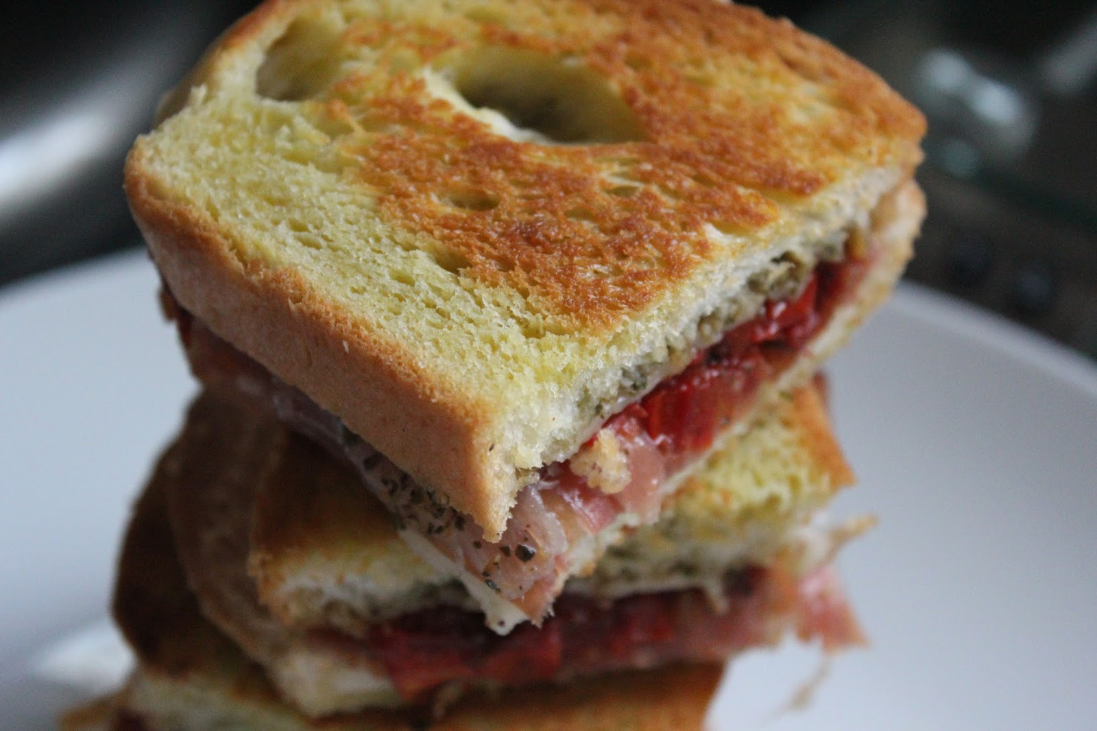 ... Italian-Style Grilled Cheese Sandwiches With Land O Lakes® 4 Cheese