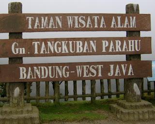 Legend Of Tangkuban Perahu - West Java Indonesian
