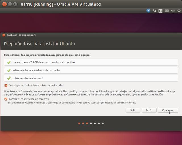 DriveMeca instalando Linux Ubuntu 14.10 Utopic Unicorn paso a paso
