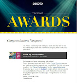 """Award Certificate From Pixoto''"