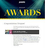 """Award Certificate From Pixoto''"