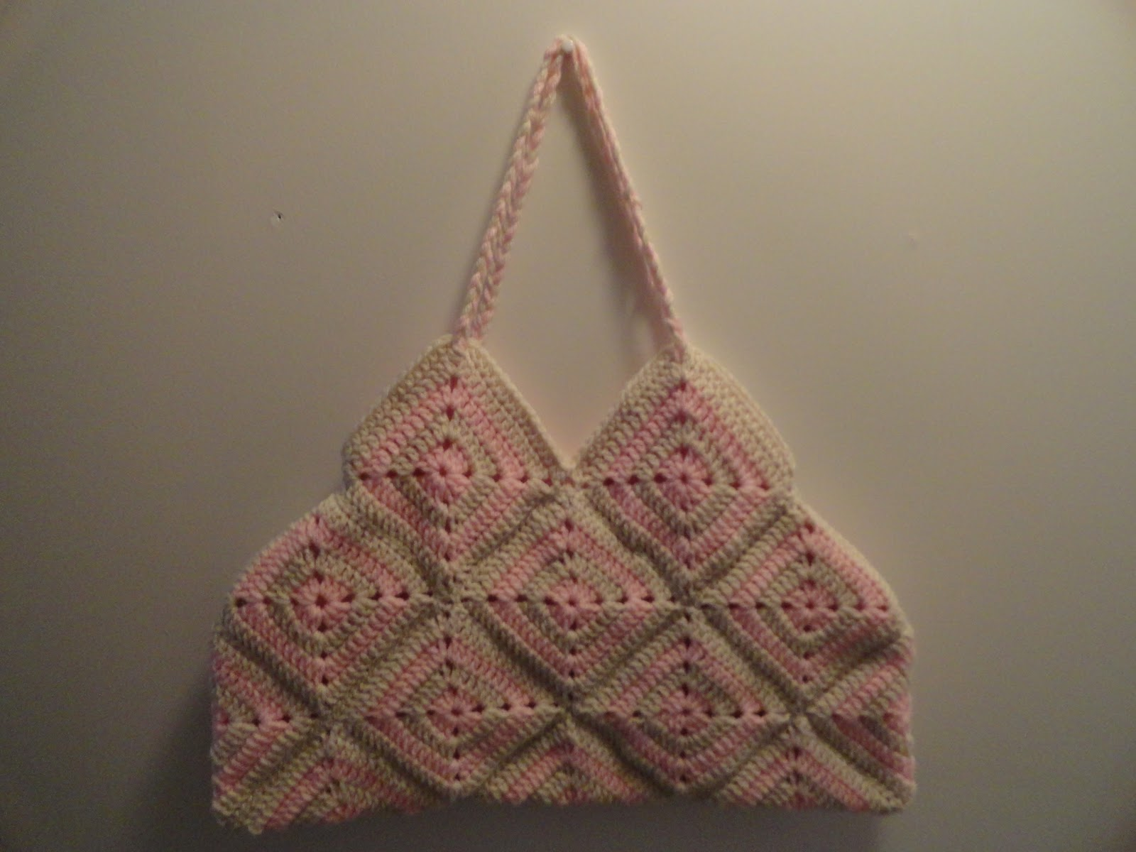 Crochet Granny Square Handbag/Purse - Blog Giveaway #1 Prize