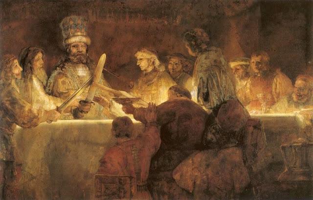 La conjuration de Claudius Civilis de Rembrandt, 1661-1662