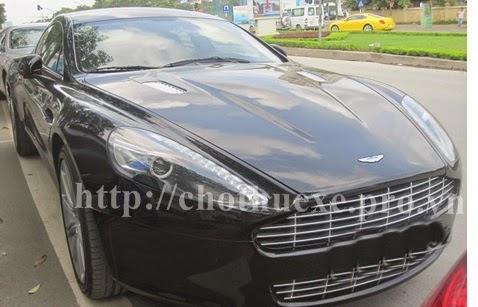 Cho thuê xe Aston Martin Rapide 2