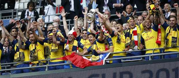 Arsenal Pecahkan Rekor Sebagai Raja Piala FA