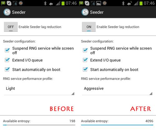 seeder entropyCara Gampang Menghilangkan LAG di Android Dengan Seeder [100% WORK]