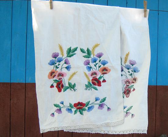 embroidery rushnik, вышивка