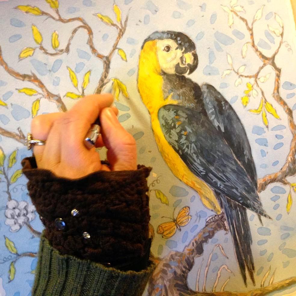 Papier Peint Pour Dessiner - dessiner une fresque sur du papier peint ? Bricoleur du dimanche