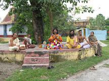 Babukishan @ Sitaramdas Omkarnath Thakurs ashram in Rishikesh 2007