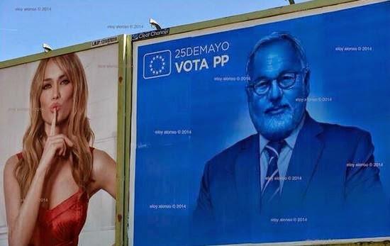 Cañete, Patricia Conde, elecciones europeas 2014