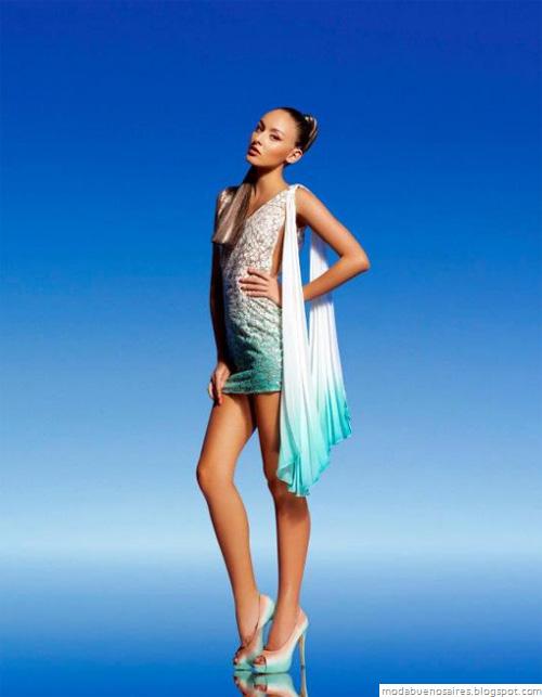 Natalia Antolin 2013 vestidos de fiesta cortos.