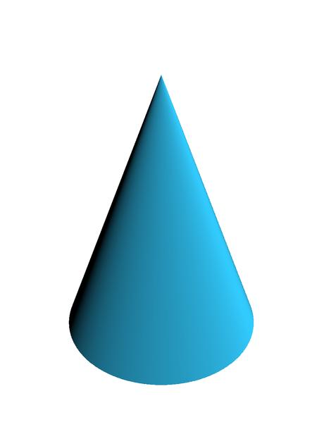 Como calcular o volume de um cone