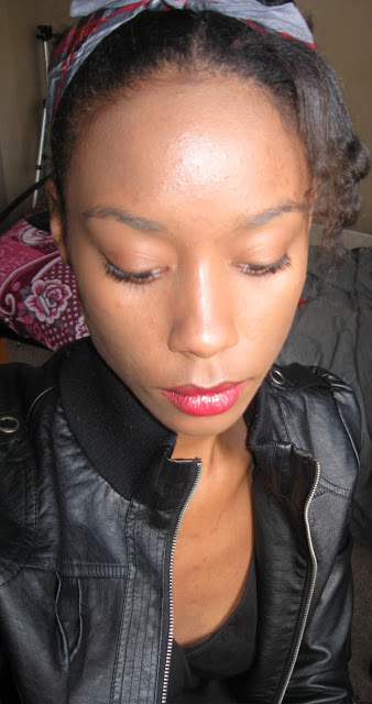 CE wearing Maybelline Dream Mouse Liquid Foundation; Flash Used
