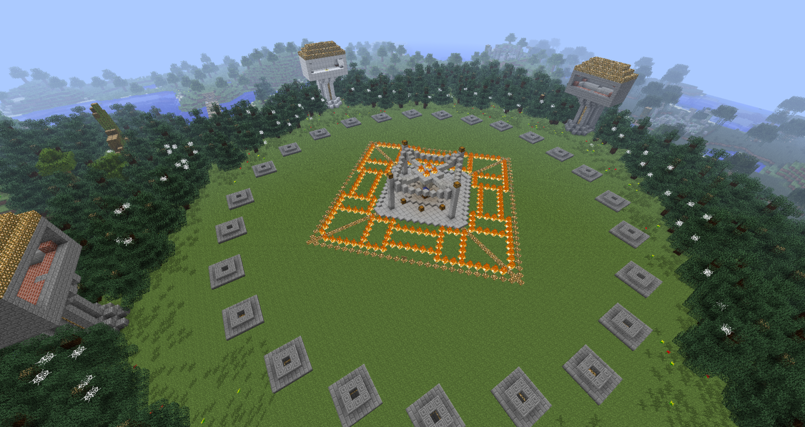 Minecraft Pc Hunger Games Map Layout on Cool Things To Build A City In Minecraft