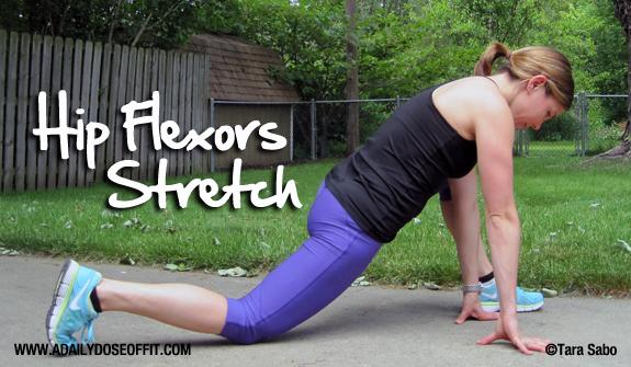 hip flexor and calf ache