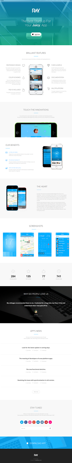 Bootstrap Landing Page Theme