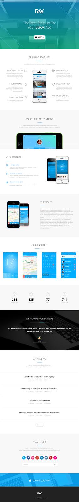 Bootstrap Landing Page Theme