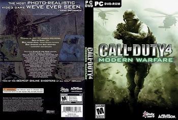 Call of duty 4 modern warfare 2DVD FPS