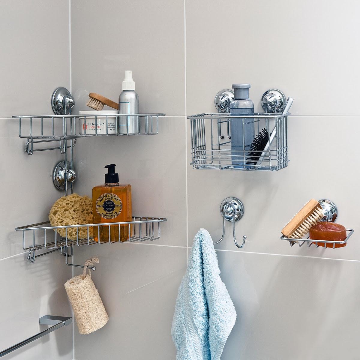 15 ideas for bathroom storage the grey home. Black Bedroom Furniture Sets. Home Design Ideas