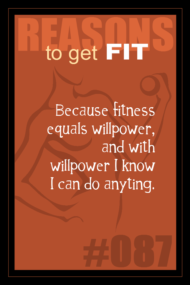 365 Reasons to Get Fit #087