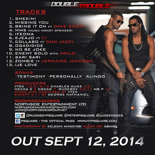"P-Square – ""Double Trouble"""
