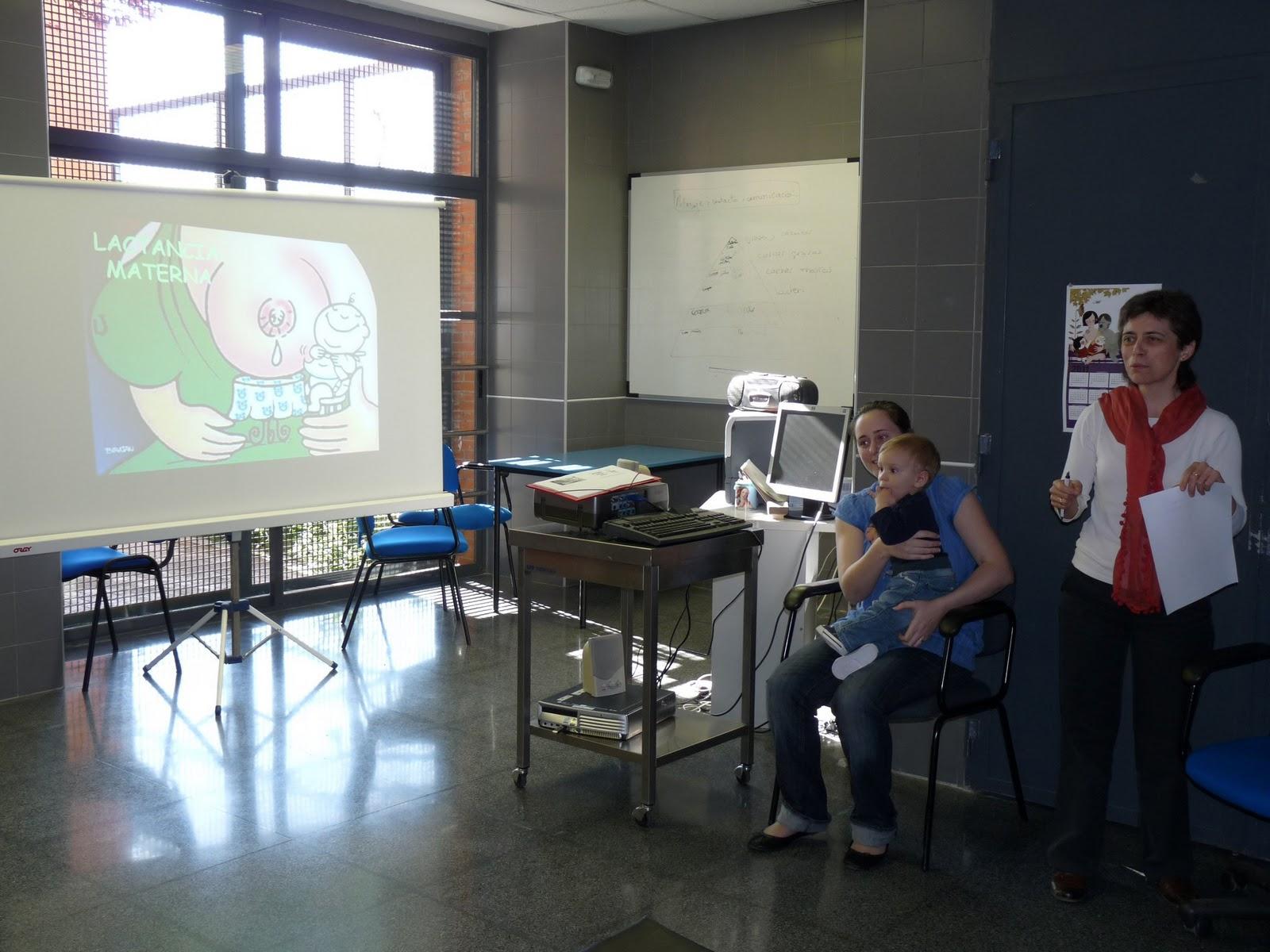 Pit i prou lunes 17 de octubre charla lactancia materna for Gimnasio xativa