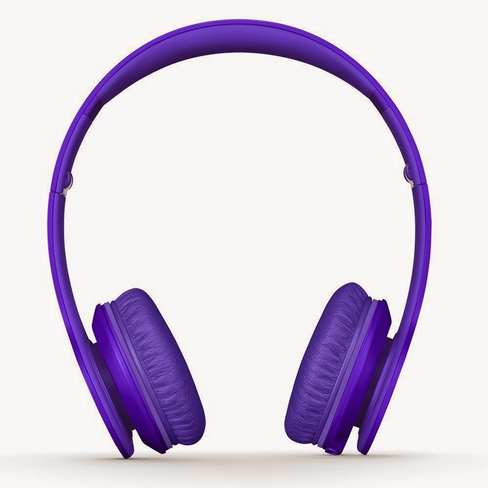 Purple Beats Headphones World