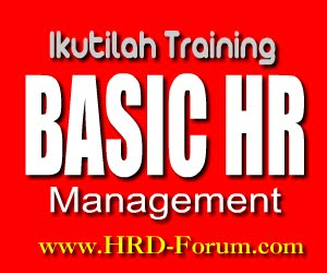 Training HRD Forum