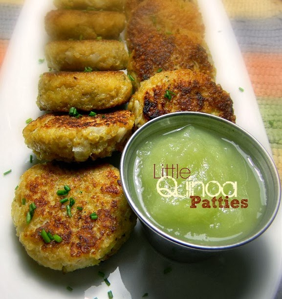 Wish Upon A Dish: Little Quinoa Patties {+ a Lowdown on Grains & Seeds ...