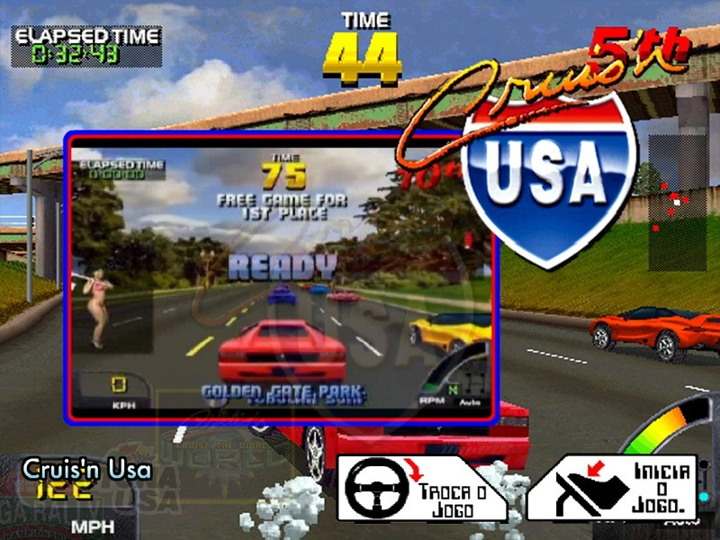 Top 10 Greatest N64 Racing Games - Cruis'n USA