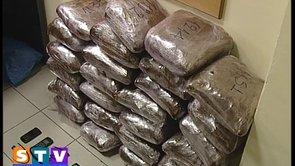 Συνελήφθησαν με 30 κιλά Ινδικής κάνναβης