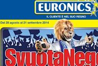 Svuota Negozio - Euronics Agosto-Settembre 2014