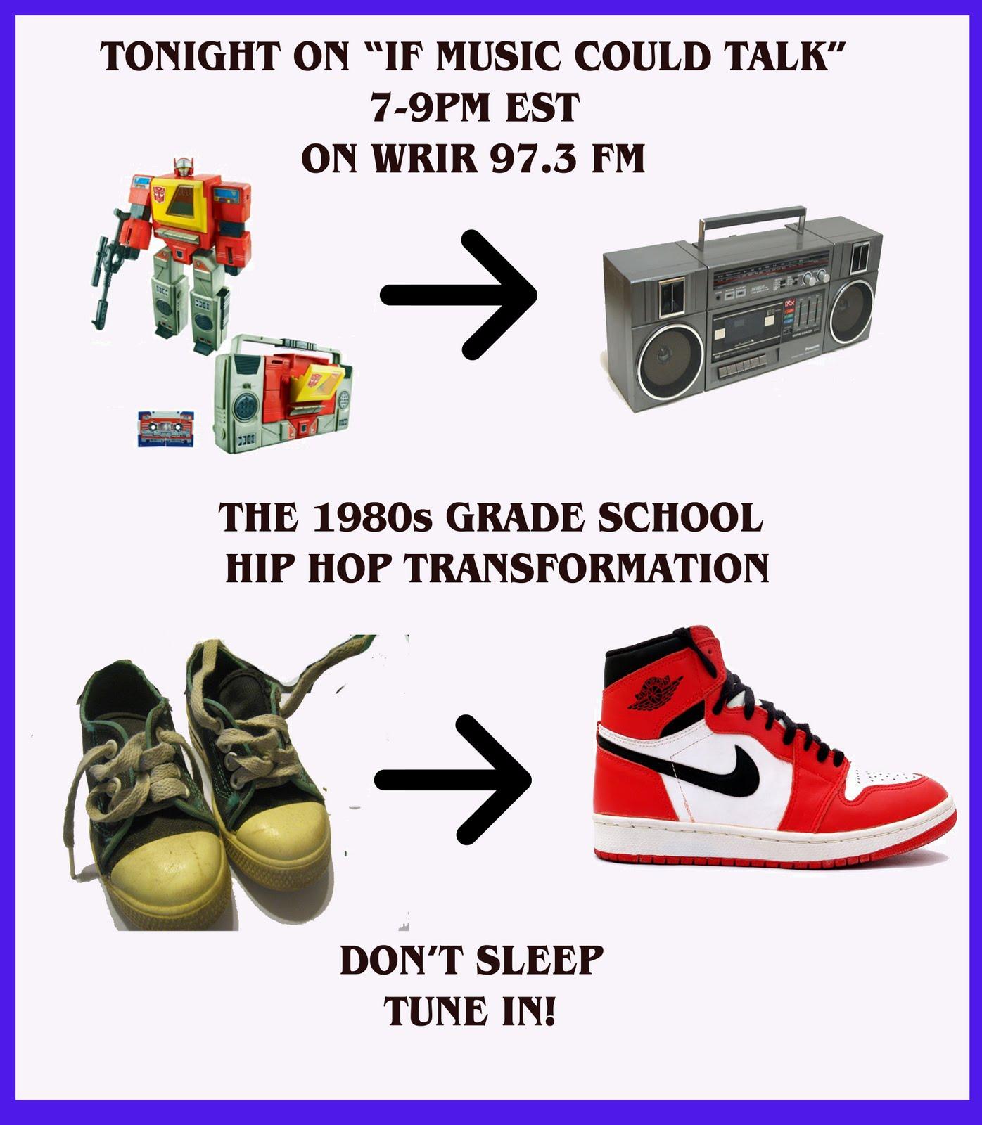 If music could talk nov 20 2011 old school hip hop