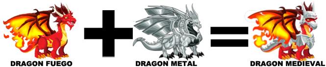 como sacar al dragon medieval en dragon city
