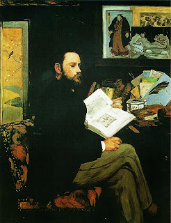 Эдуар Мане. Портрет Эмиля Золя. 1868.