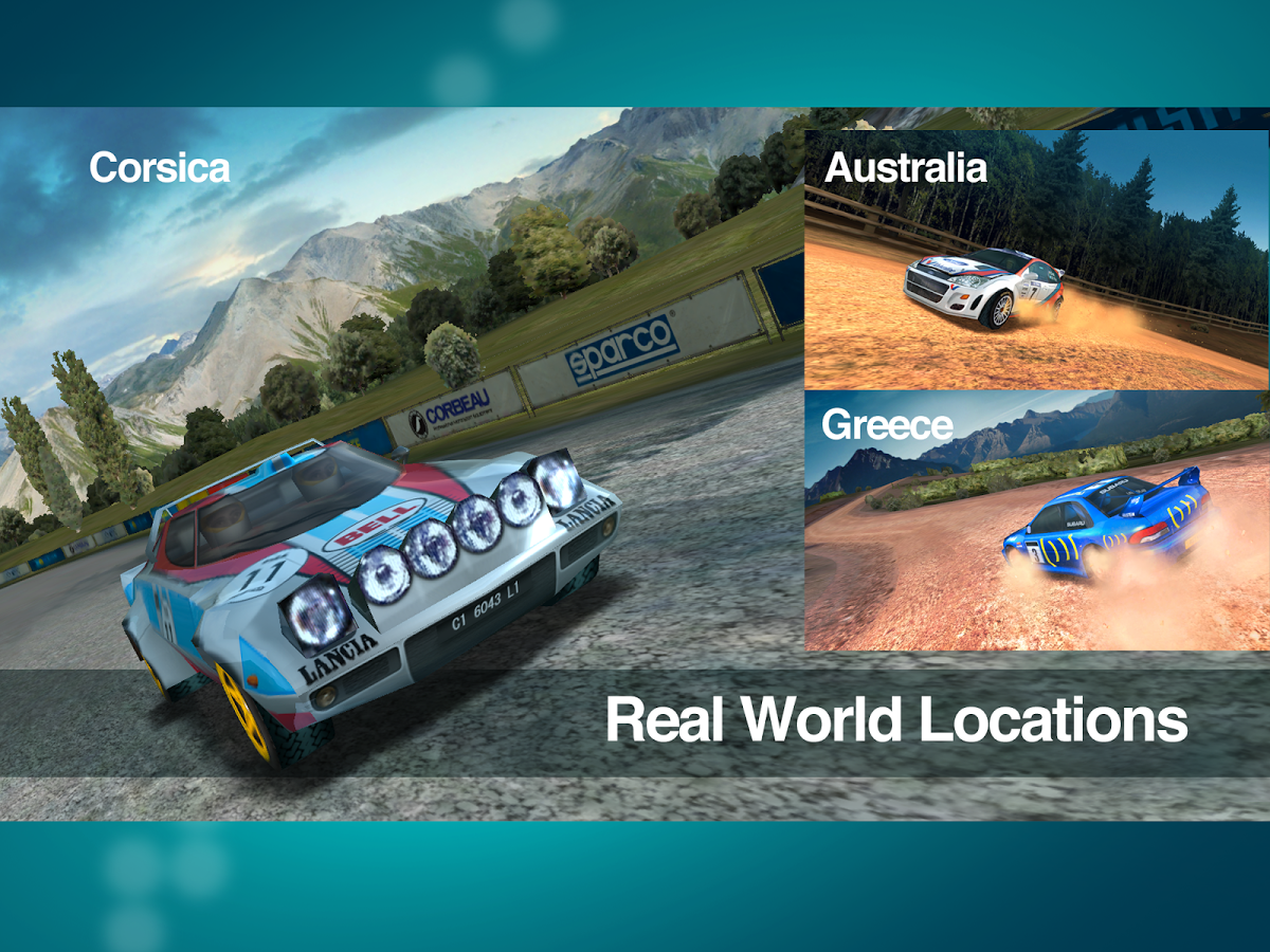 Racing Game Colin McRae Rally 2014 Android ,